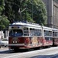 Skład tramwajowy z Wiednia w sercu Krakowa #tramwaj #wiedeńczyk