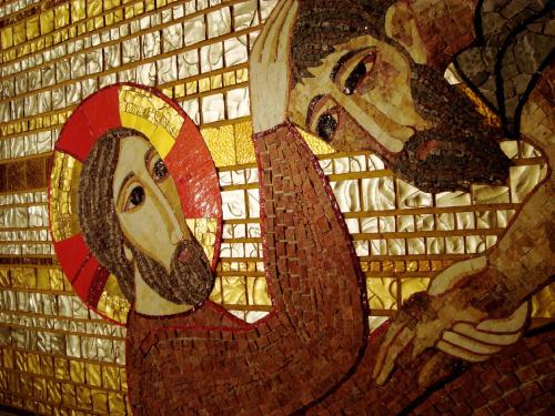 mozaika w San Giovani Rotondo