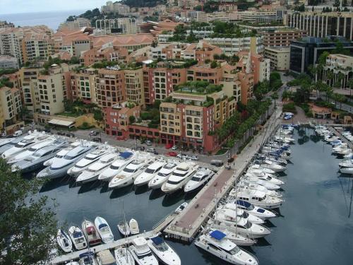 Krajobraz Monako