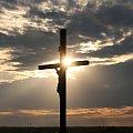 #Bralin #chmury #ZachódSłońca #krzyż
