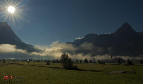 Wschód słońca w Austrii... #Austria #Naris #Widoki