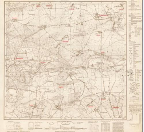 Mapy okolice Września