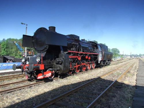 Ty2-911, Wolsztyn 02.05.2009 #kolej #kolejnictwo #lokomotywa #lokomotywy #parowozy #parowóz #PKP #pociąg #PojazdySzynowe #Wolsztyn