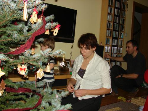 Święta 2011 - choinka #Boże #choinka #Naroszenie #OzdobyChoinkowe #pierniczki #pierniki #Święta