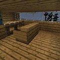 Pracownia #craftsite #dom #domeczek #domek #drewniany #drewno #góry #klimacie #klimat #minecraft #wielki #zima #zimowym