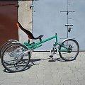 od pomysłu do realizacji roweru -kolejne wesrsje #budowa #poziomy #rower