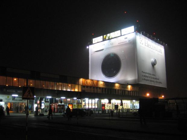 Dworzec Zachodni #autobus #warszawa #dworzec #zachodni #noc