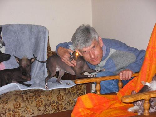 Pieski bawią się ze mną, czerwiec 2009 r. #pieski