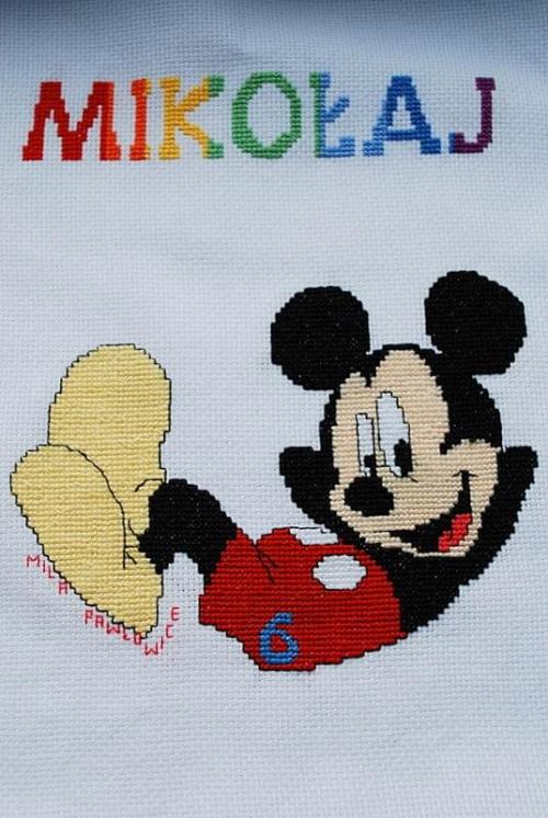 Mickey Mouse dla Mikołaja