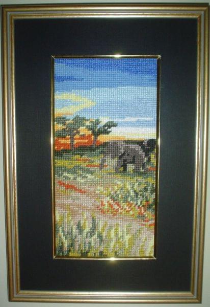 Pejzaz Czarnego Ladu-Wschod slonca. #pejzaz #Afryka #slonce