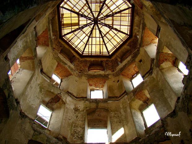 Ruiny pałacu Krzyżtopór w Ujeździe #Ujazd #ruiny
