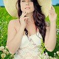 Karolina - jakoś bardzo mi się spodobały ujęcia w kapeluszu #kobieta #dziewczyna #portret #nikon #passiv #airking