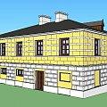 dom Leśmiana w Hrubieszowie #Leśmian #Hrubieszów #projekt #rekonstrukcja