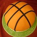 Tort Piłka Do Kosza #piłka #tort #urodzinowy