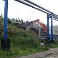białystok ul. wiadukt , kleosin szosa zambrowska w przebudowie #białystok