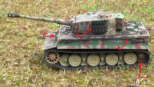 1-24 scale fov tiger