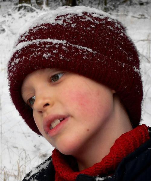Pan Emil #portret #dziecko #WZamyśleniu