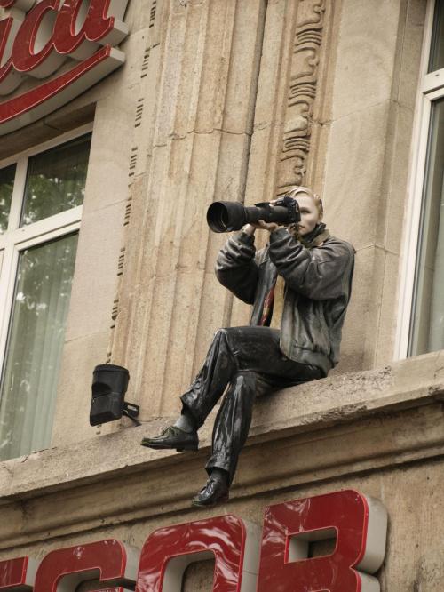 przedstawiam wam wytrwałego fotografa :-D