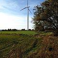 wiatrak w podsuwalskiej Białej Wodzie #wiatrak #wiatraki #ElektrowniaWiatrowa #Suwalszczyzna #BiałaWoda