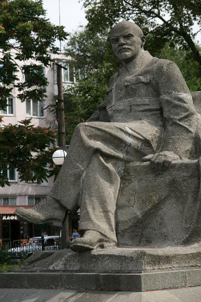 Beton partyjny w Symferopolu #ukraina #lenin
