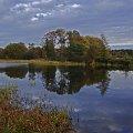 jesienny widoczek #widok #rozlewisko