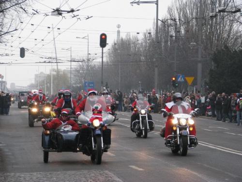 MotoMikołaje, Gdynia 2009