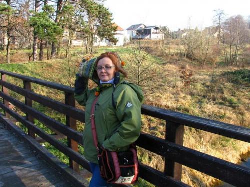 Papunia w parku #kobieta #Papunia #portret #jesień
