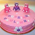 Urodzinki Paulinki #tort #urodziny #misie #pankiewicz