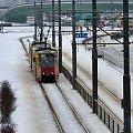 Zimowa Wawa o różnych porach doby.. #Warszawa #zima #UlWołoska #Mokotów #tramwaj #śnieg