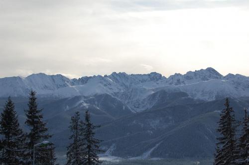 Widoki w drodze na Butorowy Wierch