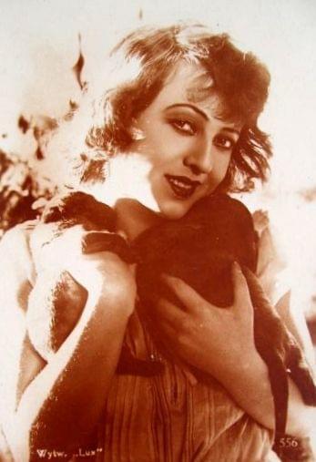 """Maria Malicka, aktorka. Kadr z filmu """" Dzikuska """"_1928 r."""