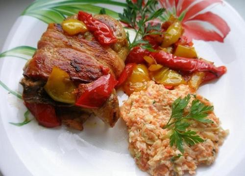#obiad #mięso #papryka