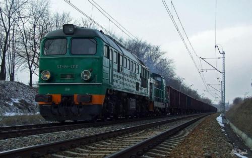 Brutto z węglem, relacja WGT - Jeziorna. #ST44 #gagarin #diesel #lokomotywa #spalinowa #pkp #cargo #brutto