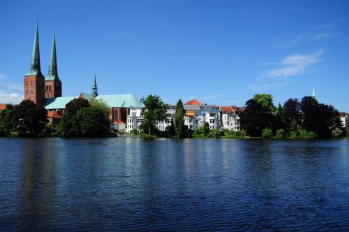 Widok na Lübeck