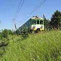 #EN57 #pociąg #KolejeMazowieckie #kolej #Otwock #Śródborów #lato #PKP