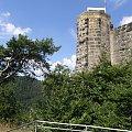 Kurort Oybin,widok na wieżę klasztoru #oybin #niemcy #ViaSacra #kurort