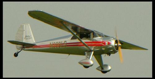 Luscombe Silver, takie samoloty prawdopodobnie będą produkowane w Radomiu. #LuscombeSilver #Radom #Sadków #samolot #górnopłat