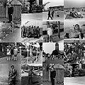 Collage. Moje zdjęcia archiwalne, dziewczynka - to moja córka. Zdjęcia z lat 60-tych i 70-tych. #collage #ZdjęciaArchiwalne