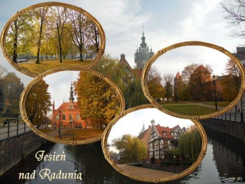 Jesień obok mojego domu #Gdańsk #NadRadunią #jesień #zabytki