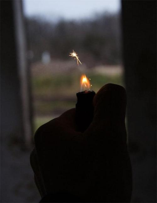 Niech zapłonie. #zapaliniczka #ogień #błysk