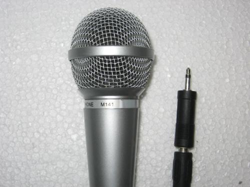 THOMSON M 141 - mikrofon dynamiczny #mikrofon #microphone #dynamic #dynamiczny #allegro #aukcja #thomson #M141 #prawie #nówka