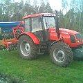 Farmer 8244C2 agregatuprawwy z siewnikiem Poznaniak 2,7m #Rolnictwo #huta #lututów #farmer