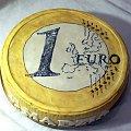 1 euro.... #tort #euro #torcik #urodziny #JarosławPankiewicz