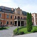 Pałac w Kobierzycach jest siedzibą Urzędu Gminy #Kobierzyce #UrządGminy #zabytek
